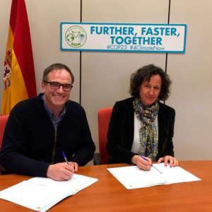 Agropecuaria La Serrota firma el Proyecto Clima
